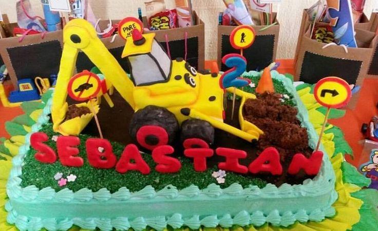 Torta de Tractor 3D