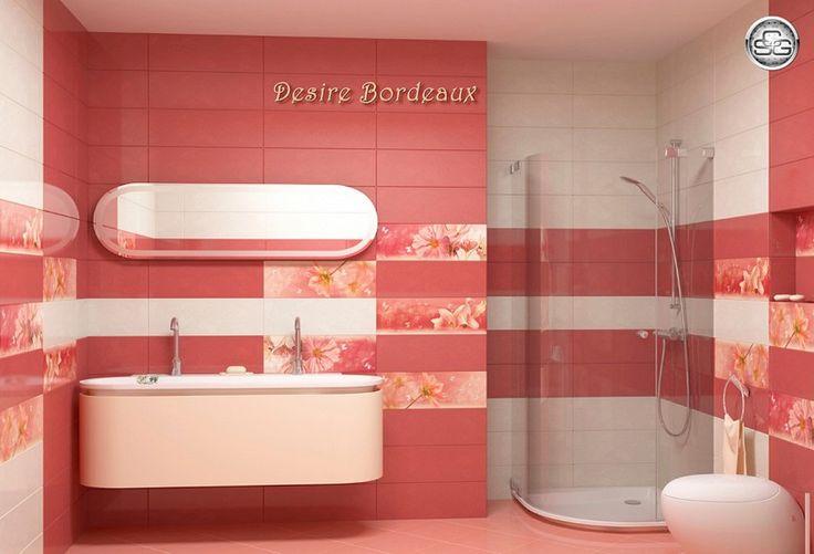 Плочки за баня Desire Bordeaux
