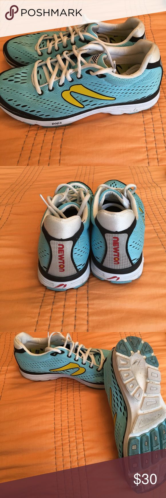 Women's Newton Running Shoes Great shoes with lots of life left. Only worn on a handful of runs. Lightweight shoe in a cute color. Newton Shoes Athletic Shoes