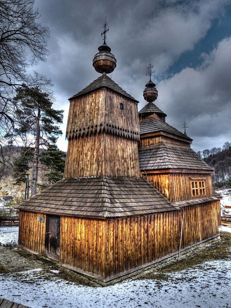 Drevený kostolík Bodružal, Svidník, Slovensko