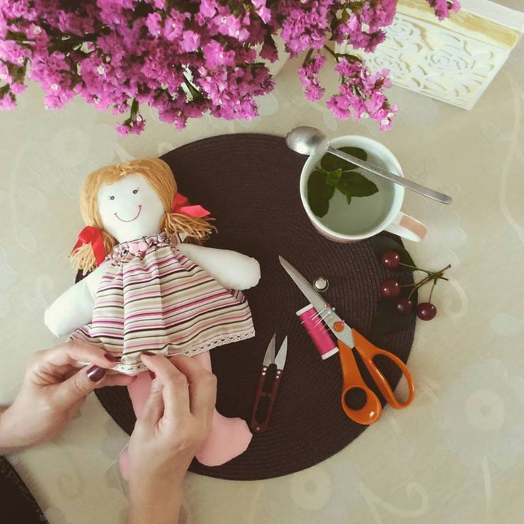 Wednesday afternoon with my mom. Vshebi dolls are the part of our 'mother and dauther time' project. This handmade, cloth dolls make perfect gift for every little girl. Click on the link in the description to learn more about our goods.