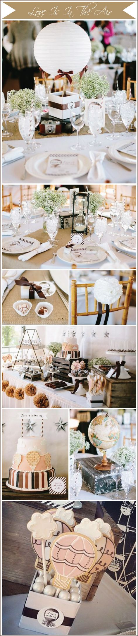 Operation-Shower-Love-Is-In-The-Air - table anchored hot air balloon centerpiece instructions