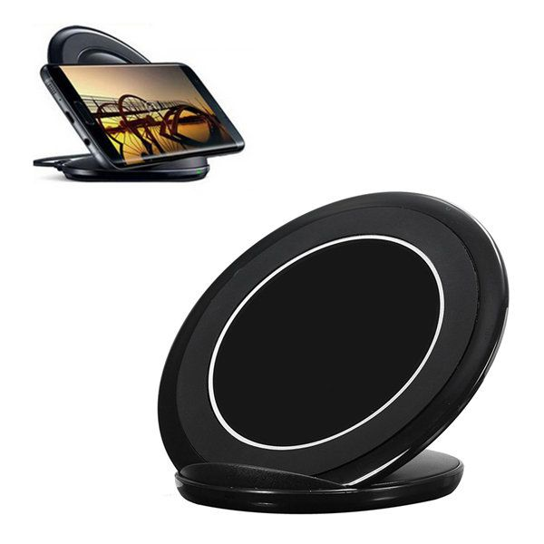 QI Wireless Fast Charger Charging Stand Pad For Samsung S7/S7 Edge/S6/S6 edge/Note5