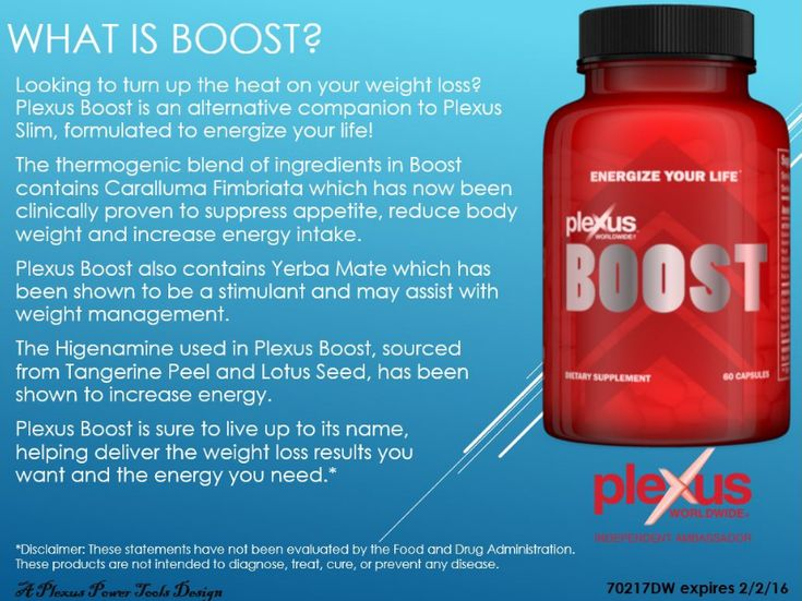 Plexus Boost ingredients and benefits. Boost is perfect if you're looking to turn up the heat on your weight loss. Formulated to energize your life.