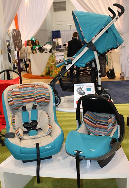 Maxi-Cosi introduced the Bohemian Blue collection on the popular Pria 70 Convertible Car Seat, the Prezi Infant Car Seat and the Kaia Stroller. Coming to OurBabyOurWorld.com in Spring 2014. Pre-orders are always welcome!