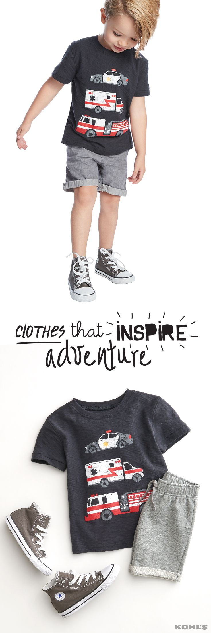 For parents and kids that want durable play clothes and fun style at the same time, Jumping Beans has a whole new look that hits all the marks. Get easy to pair, easy to wear Jumping Beans clothes for kids at Kohl's.