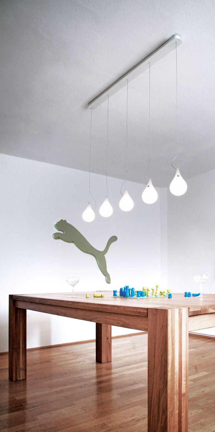 LIQUID LIGHT by Hopf & Wortmann for Next lighting exhibit design