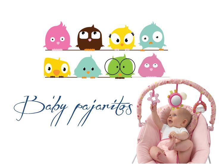 Vinilo decorativos Baby Pajaritos  https://www.facebook.com/vinilosdecorativosguatemala