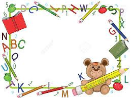 Resultado de imagen para school frames and borders
