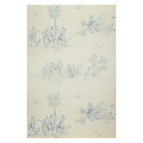 Buy John Lewis Leckford Toile Wallpaper Online at johnlewis.com