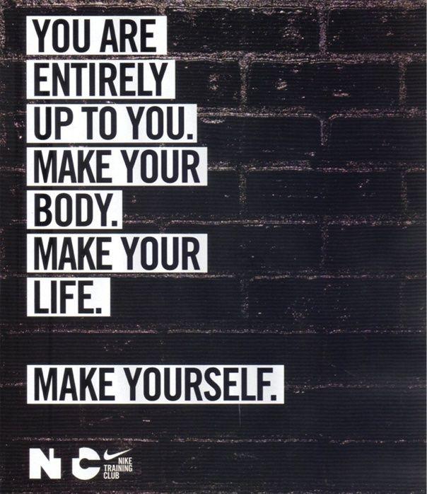 Nike Make Yourself #fitness #inspiration: