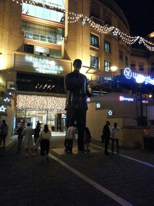 Mandela Square at Christmas 2012