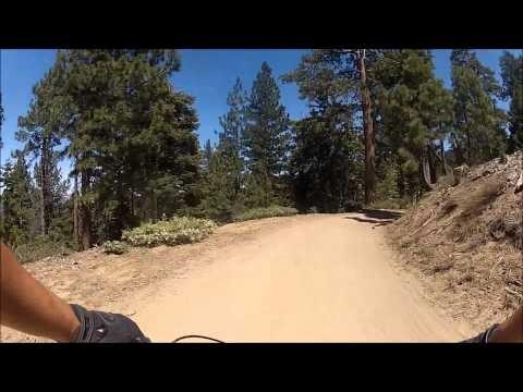 Big Bear Snow Summit Mountain Biking - Cruiser and Miracle Mile Trails on 5/27/13