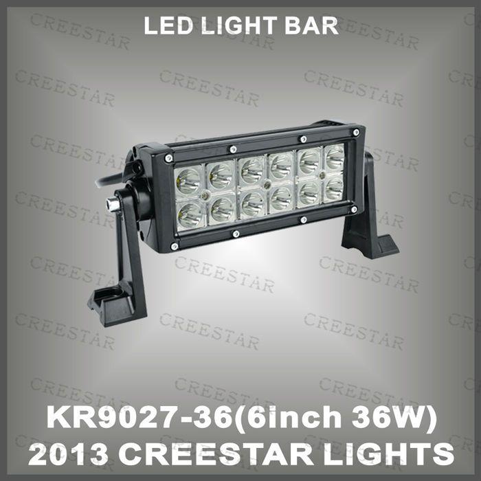 Popular W led light bar for trucks waterproof for x SUV ATV