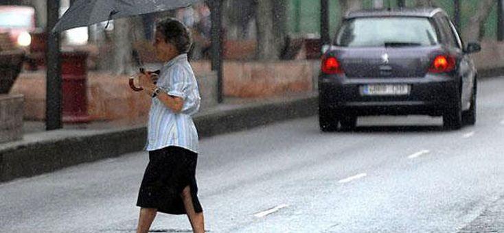 Schon wieder Wetterwarnung wegen schwerer Gewitter auf Mallorca
