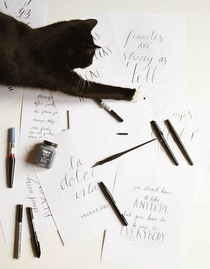 133 Best Images About Hand Lettering And Fonts On Pinterest