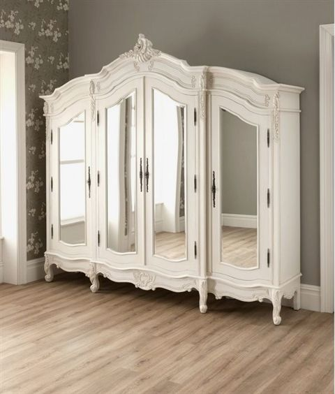 antique french style wardrobe armoire stylish bedroom furniture