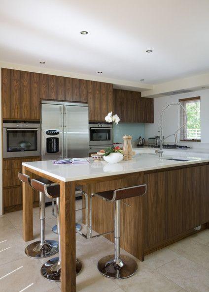 17 best images about cuisine gris bois on pinterest plan de travail coins and armoires. Black Bedroom Furniture Sets. Home Design Ideas