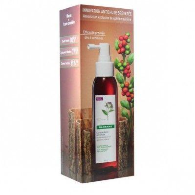 Klorane Cure de Force Antichute au complexe actif Quinine Caféine Spray de 125 ml