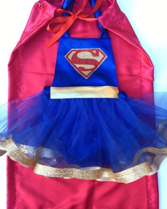 Superman costume superman cape superhero costume by PookieWear