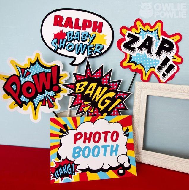 Photo 8 of 20: Superheros / Baby Shower/Sip amp; See Super Hero Baby Shower   Ca