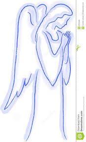 Afbeeldingsresultaat voor engel tekening