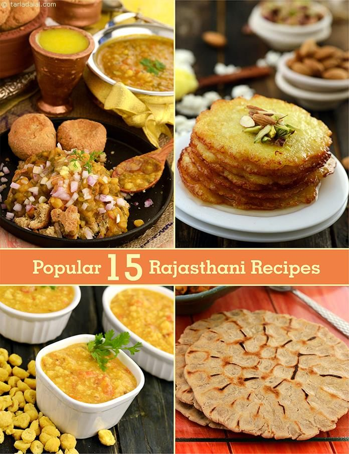 Top 15 Rajasthani Recipes
