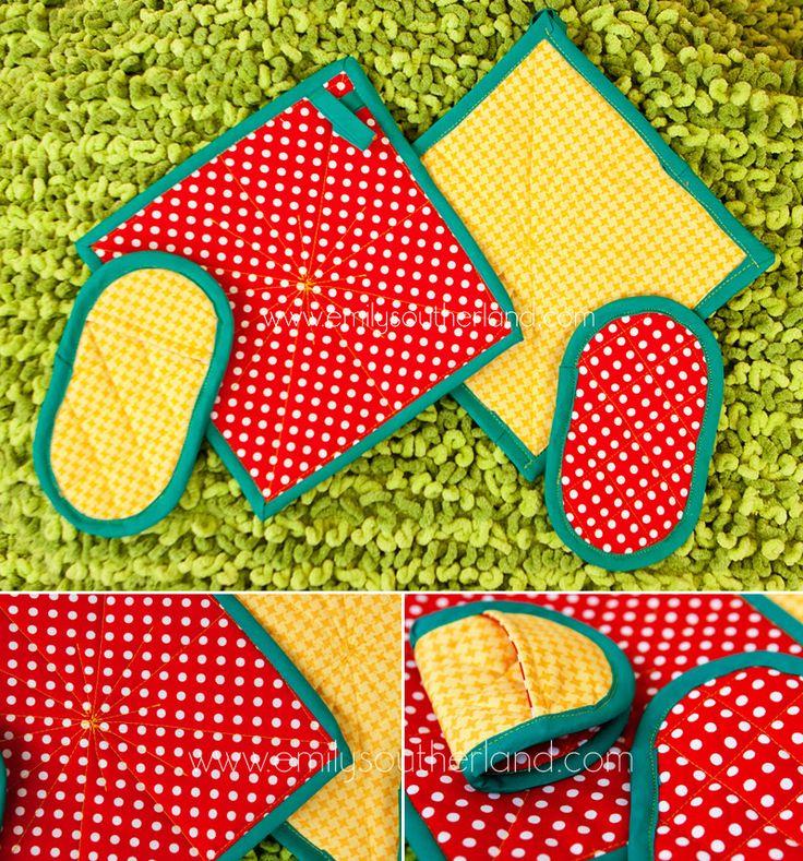 43 besten Sewing: Ovenmit & potholder patterns & ideas Bilder auf ...