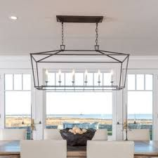 Image result for visual comfort rectangular chandelier
