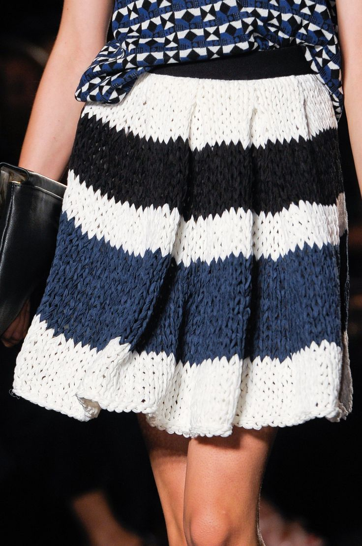 knitted skirt - Les Copains