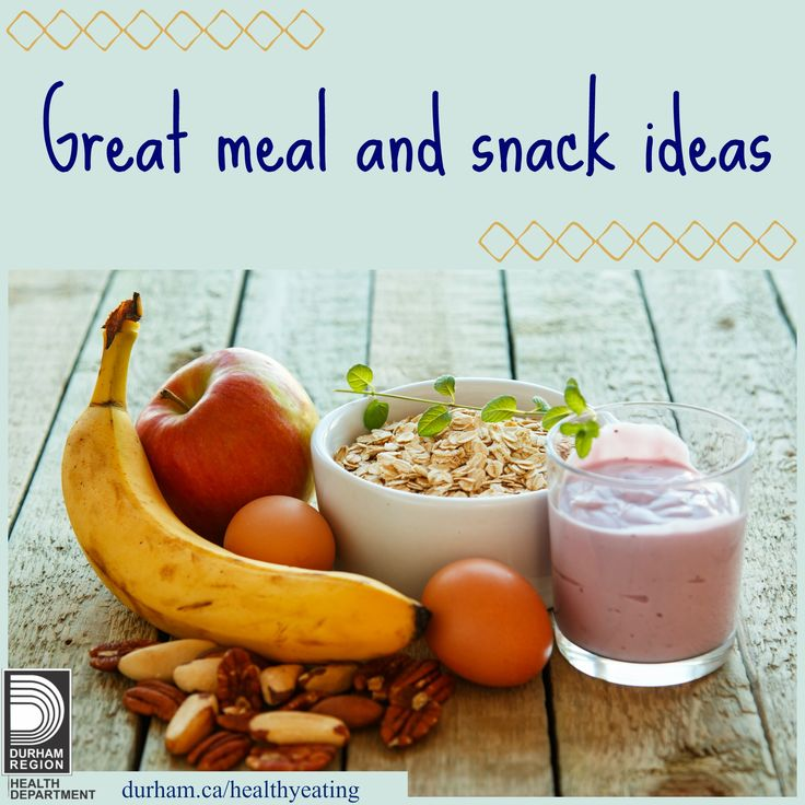 Take a look at the website for great tips on how to start your day off right with a healthy breakfast - even when you're on the go! There are great healthy recipes, tips and examples of healthy lunches and snacks.