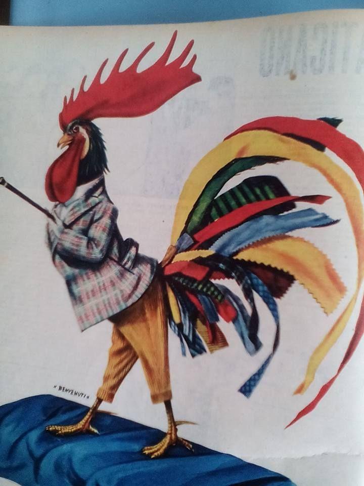 """La pubblicità negli anni 50 """"  dalla rivista settimanale """"Tempo"""" 1956."""