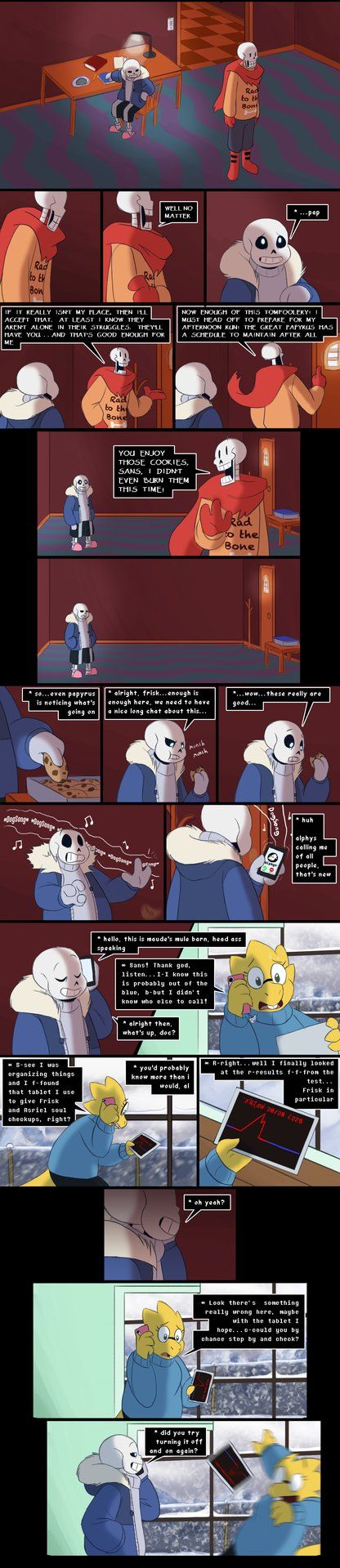 Toriel isn't his only target after all last page: next page: Dec. 10th