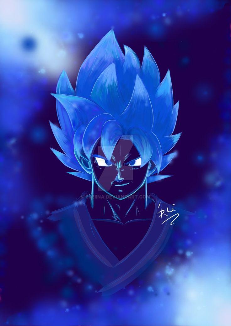 Goku SSGSS by eREIina.deviantart.com on @DeviantArt