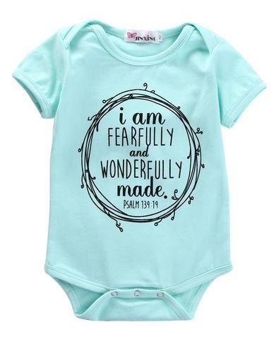 4f6be341a34 Cotton Newborn Infant Baby Boy Girls Bodysuit Clothes