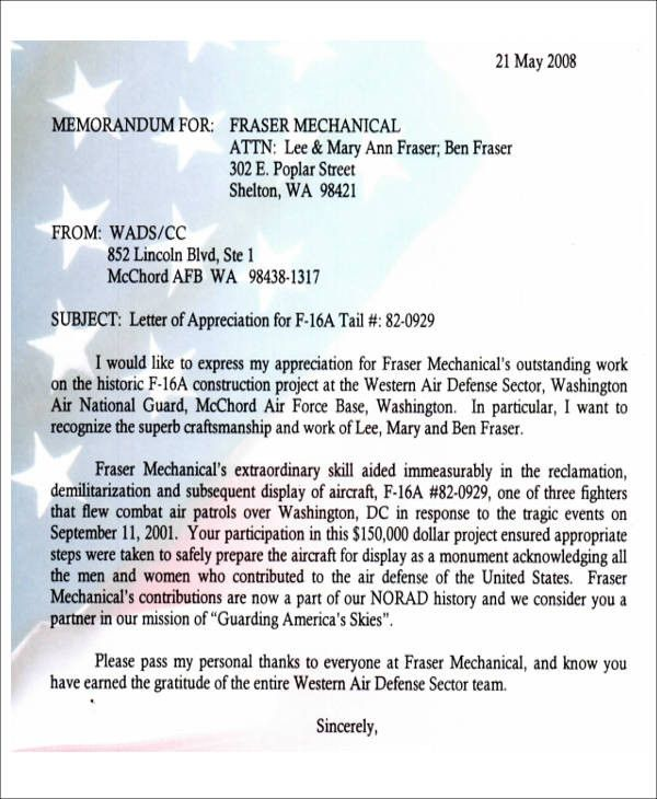 Air Force Letter Of Recommendation Fresh Sample Air Force Letter Of Re Mendation 6 Examples In Lettering Letter Of Recommendation Certificate Of Appreciation