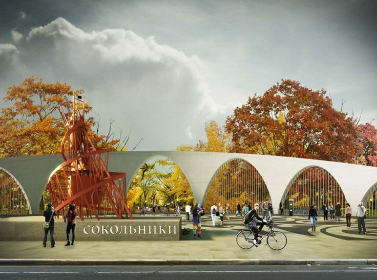 LOLA landscape architects, Taller 301, Land+Civilization Compositions · Sokolniki Park