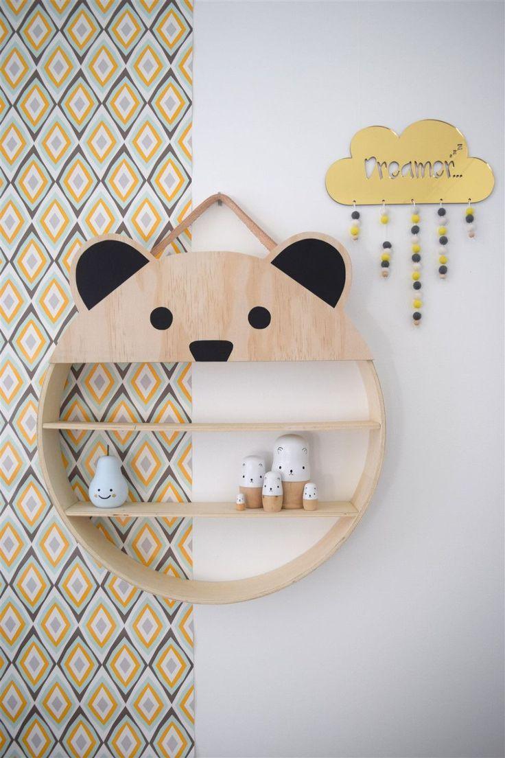 {DIY} Des étagères pour enfants canons!! Moma le blog DIY shelves for kids room!                                                                                                                                                                                 Plus