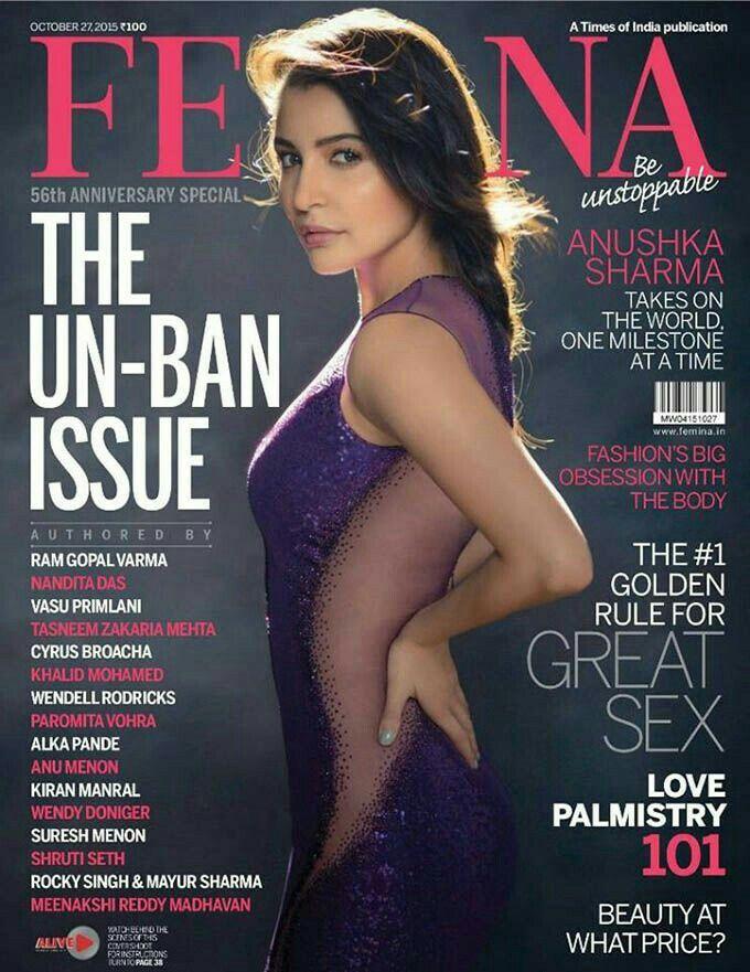 Anushka Sharma@femina