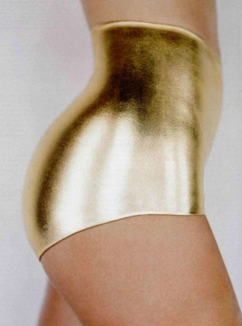 Oh fine, I give in to these fucking gold underpants.