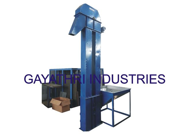 Bucket Elevator / Feeder  http://cashewmachine.in/process-material-handling-system.html