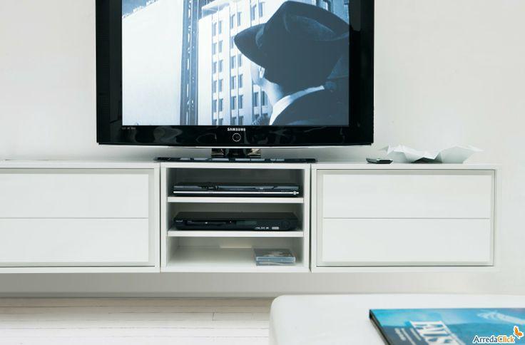 ... Meuble Tv Suspendu sur Pinterest  Tv suspendue, Tv suspendu et Meuble