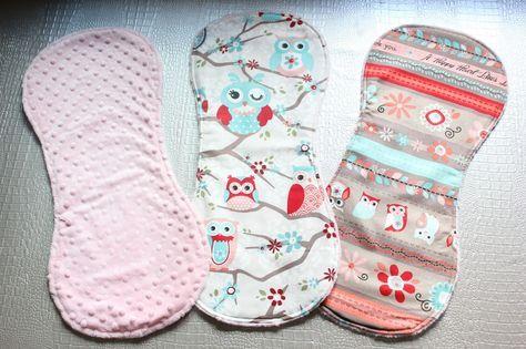 DIY: Cómo hacer toallas de eructar para bebé con tela minky ~ Sara's Code: Blog de Costura + DIY