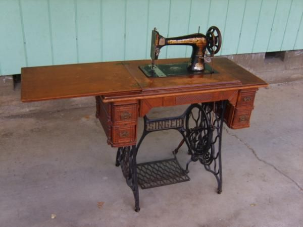 white treadle sewing machine models
