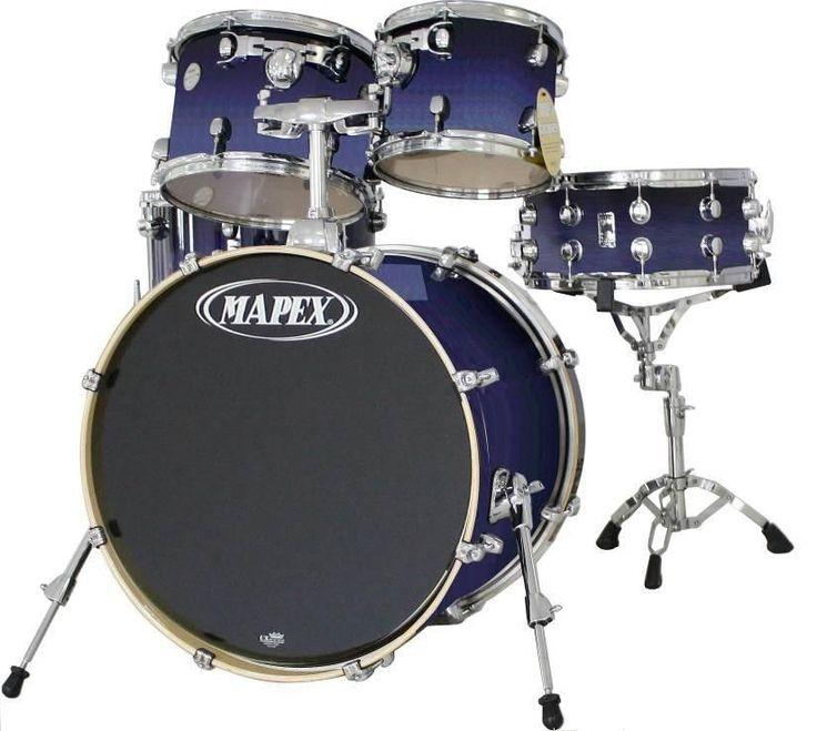 Mapex Drums | Mapex, Drum Set, Meridian Birch Series, SHELL PACK, Spl. 6 pcs ...