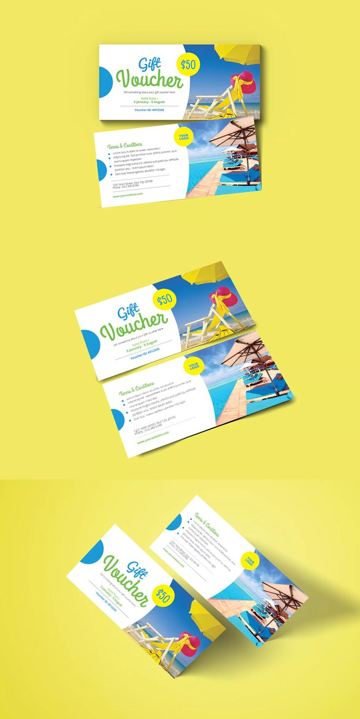 15 best gift voucher design templates images on pinterest design travel voucher template ai psd xflitez Choice Image