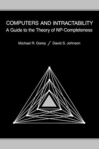 Computers and Intractability: A Guide to the Theory of NP-completeness (Series of Books in the Mathematical Sciences) by M R Garey http://www.amazon.co.uk/dp/0716710455/ref=cm_sw_r_pi_dp_FuY7ub0YRW8P4