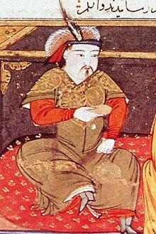 "Hulagu Khan, also known as Hülegü, Hulegu (Mongolian: Hülegü Khaan, ""Warrior""; c. 1218 – 8 February 1265), was a Mongol ruler who conquered much of Southwest Asia. He was a grandson of Genghis Khan, and the brother of Ariq Böke, Möngke Khan and Kublai Khan. Hulagu's army greatly expanded the southwestern portion of the Mongol Empire, founding the Ilkhanate of Persia, a precursor to the eventual Safavid dynasty, and then the modern state of Iran."