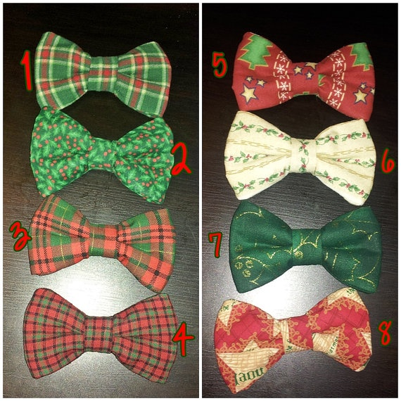 Christmas Bowties or Bows! Cute for Christmas Family Photos or parties! $8.50