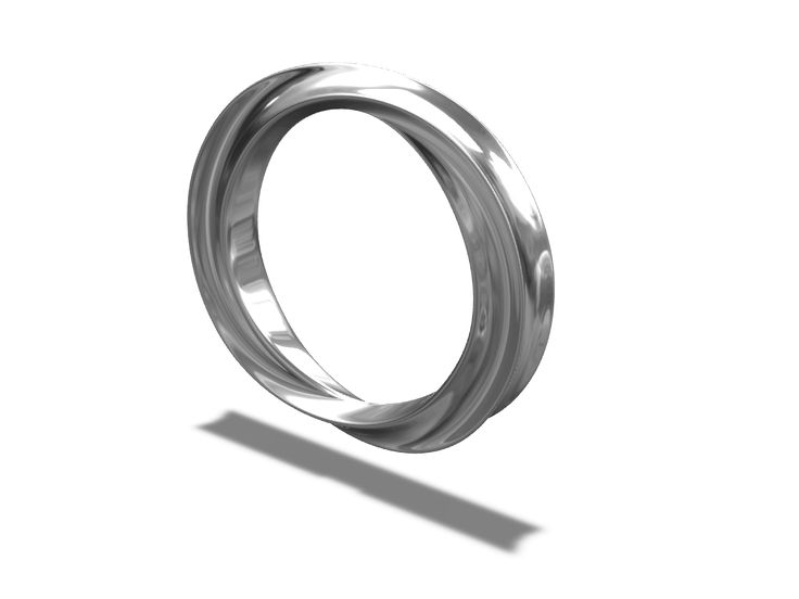 Twisted ring - a 3D model by VECTARY | VECTARY